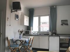 Torre studio kitchen area