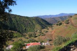 Property/ valley below