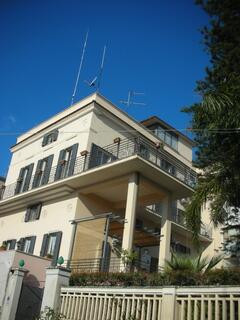 Property Photo: the facade on Conte Ruggero