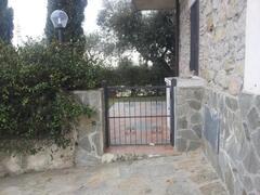 Gate of apart. B