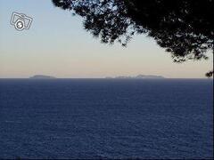 Ponza and Ventotene Island in the orizont