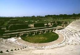 Roman amphitheater near Formia