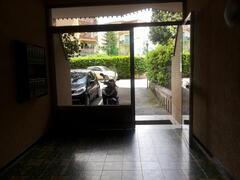 Gate of apartment