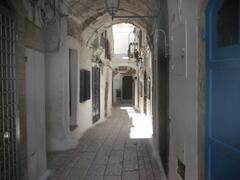 Typical little street in Sperlonga