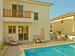 Property Photo: The villa with the swimming pool
