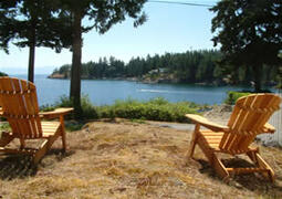 Property Photo: Shores Cottage Vacation Sunshine Coast Canada