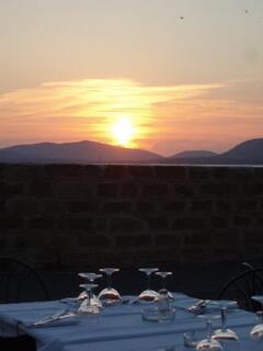 Sun set over Alghero