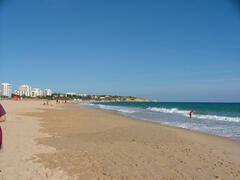 Property Photo: Alvor Beach with Studio 206's block to the left