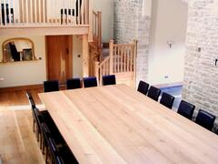 Property Photo: Banquet Hall, with amazing 26 seater table