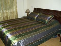 Bedroom with real excellent kingsize bed