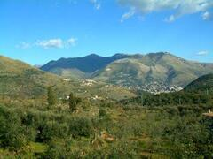 Itri surrounded by mountains