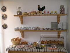 Morning breakfast-buffet