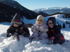 Snow on the mountains (Tremalzo)
