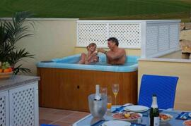 Hot Tub on Sun Terrace