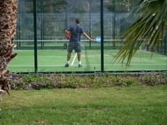 2 Paddle Tennis Courts