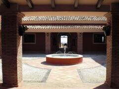 Fountain in Lobby
