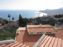 Property Photo: Panoramic views of Funchal from the house overlooking the harbor