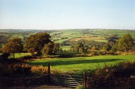View from Swallow Cottage