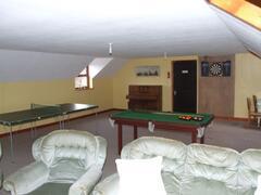 Hayloft Games & TV room