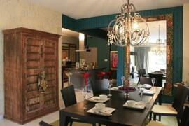 Property Photo: View from dining area to open concept kitchen