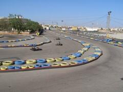 go karting down the road