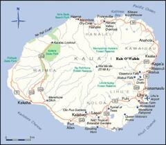Kauai Map & Our Location