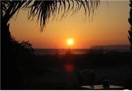 Sunset on Lanzarote