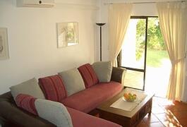 Lounge leading onto lovely gardens
