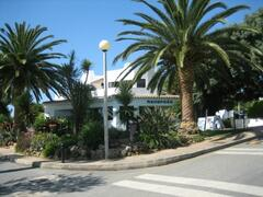 Entrance to Clube Albufeira