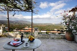 Property Photo: Breakfast with astonished view