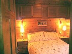 The lovely main bedroom