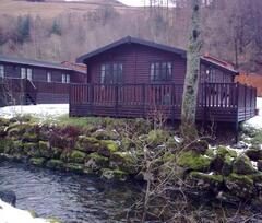 Property Photo: Puddelduck Lodge in the snow