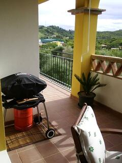 Terrace with Weber BBQ