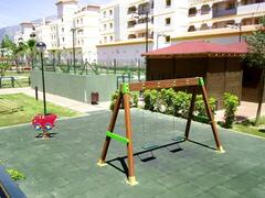 One of the childrens play areas