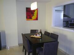 Dining Room with Welcome Pack