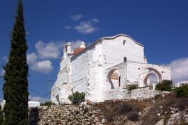 A local church with Moorish architecture.