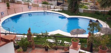 Local swimming pool.