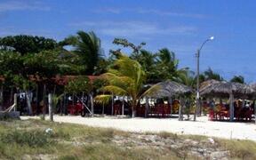 Beach restaurants locally.