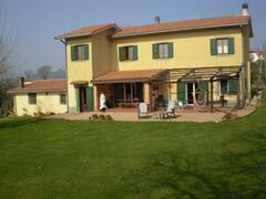 Property Photo: View on the house and portico