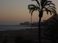 Benalmadena at Sunset