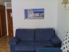 View of the living room - Double sofa bed