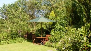 Property Photo: The Cottage Garden where you can enjoy a glass of wine