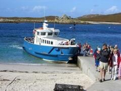 Arriving on Bryher
