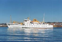 The Scillonian sails daily from Penzance