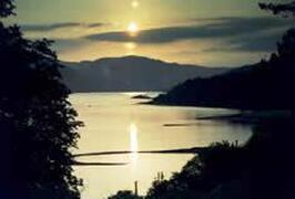 Sunset over Loch Sunart