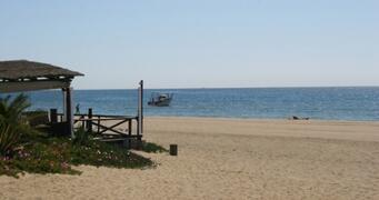 Estapona beach