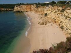 Praia Nova 4 minutes walk away