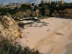 Praia Senhora da Rocha 4 minutes walk away