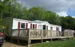 Property Photo: Exterior of 8 berth luxury mobile home