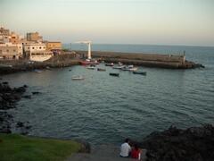 Neighbouring fishing village